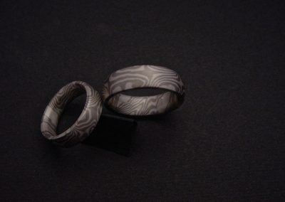 argent-palladium double twist  (vendu)